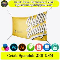 Cetak Spanduk Banner 280 GSM