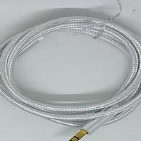 Kabel Audio Aux 1 in 1 Philips Jack 3.5mm - Putih