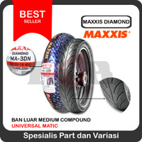 Maxxis 80/90-14 MA3DN Ban Tubeless Motor Matic Matik MA 3DN