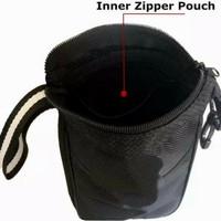 Golf Pouch Bag Multi pocket clip Ziper hook to Bag Nylon