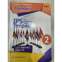 Buku Mandiri IPS Terpadu kelas 8 ( bekas )