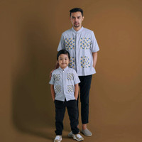Baju Koko Couple Anak Ayah Althaff C19, Koko Couple, Baju Koko Samaan