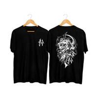 MS - BF194 Kaos Distro Pria T-Shirt Pria Kaos Pria Tulisan Jepang