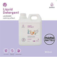 Pureco Refill Liquid Detergent Sabun Baju Laundry Lavender 900mL