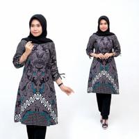 tunik batik atasan batik tunik baju wanita