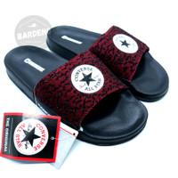 Sandal Converse CT Grain maroon / sandal slop / flipflop - 41