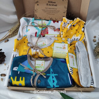 Hampers Velvet Junior Full Set Newborn (3 Baju) - Kado Lahiran Bayi
