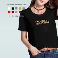 Kaos Wanita ML Bang Bang / Tshirt Katun Combed 30s / Tumblr Tee Unisex