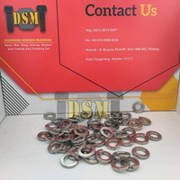 SS 304 / Ring Per M6 Ver / DIN 127 Spring Washer Stainless