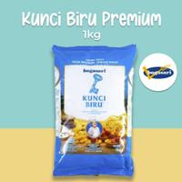 Kunci Biru Premium 1kg Tepung Terigu Protein Rendah Kue Kering