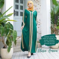 ORI DLUSIA AMARA maxi dress arab/india/dubai/turki busui katun rayon