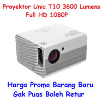 Projector Proyektor Unic T10 3600 Lumens 1080P