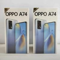 oppo a74 5G 6/128 ram 6/128gb new resmi