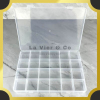 Kotak Plastik Aksesoris Perkakas 24 Sekat Box Case Serbaguna Obat