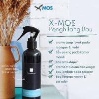 X-MOS Penghilang Bau Ruangan Mobil Sepatu Rokok 200ml