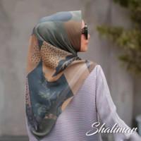 Jilbab / Hijab Segi Empat Motif Marimar Kerudung Bahan Voal Premium