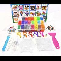 COMPLETE SET BEADS PUZZLE 6000PCS / mainan anak mirip aquabeads