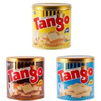 Wafer Tango Kaleng 350gr Berbagai Rasa