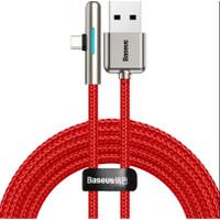 Baseus Kabel Charger data USB Type C L Angle LED 40W 2 Meter