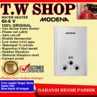 Pemanas Air Gas Modena GI 6 V - Water Heater Gas