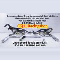 Footstep Underbone SATRIA FU 150 Karbu Injeksi FU FI Dural Double Step