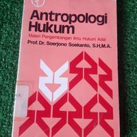 Antropologi hukum Materi Pengembangan Ilmu hukum adat Prof Dr Seorjono