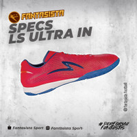 SEPATU FUTSAL SPECS - LS ULTRA IN - ORIGINAL - 401793 - 401792 - RED, 37