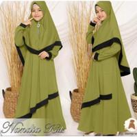 Baju Gamis Anak Perempuan Usia 6-13 tahun Busana Muslim Lebaran