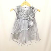 Baju pesta anak / dress pesta anak perempuan untuk 1 - 2 tahun