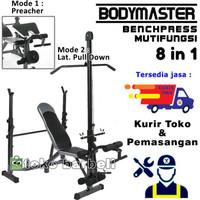 Fitness Benchpress Bench Press Multi Multifungsi Bangku Fitness Home