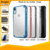 Ringke iPhone Xs Xs Max Xr Fusion Softcase Slim Anti Crack Armor Tough
