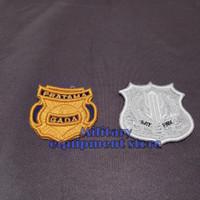 Atribut bordir timbul logo gada Pratama dan kewenangan satpam