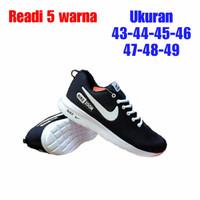 Sepatu Running Pria Nike Kayshi run Hitam Putih - 01