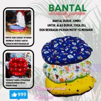 BANTAL DUDUK JUMBO 70X70/ BANTAL YOGA/BANTAL LESEHAN BULAT BUMIL