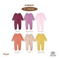 Sleepsuit (Maroon, M.Orchid, R.Water, B.Dust, Frappe, M.Yellow) 0-12M
