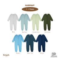 Sleepsuit (Msty, B.Hze, C.Grn, R.Grn, Ngra, I.Teal, Ocn) 1-2Y