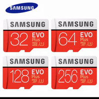 MICRO SD SAMSUNG CLASS 10 FLASH DRIVE 100MBPS 32 64 128 256gb - 32 gb