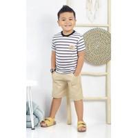 Baju Anak Laki Laki Setelan Set Salur 2 3 4 5 6 Tahun