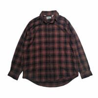 90's LL Bean Northwood Plaid Flanel Shirt