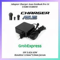 Adaptor Charger Asus ZenBook Pro 14 UX480 UX480FD 19V 3.42A 65W