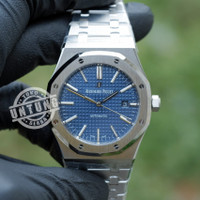 Audemars Piguet Royal Oak 41mm 15400 SS Blue Dial ZF 1:1 Best Grade