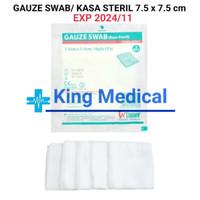 Kasa Steril Gauze Swab 7.5x7.5cm/16 Ply Winner isi 5