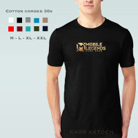 Kaos Pria ML Bang Bang / Tshirt Katun Combed 30s / Tumblr Tee