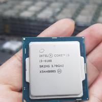 INTEL PROCESSOR CORE I3 6100 3.7 GHz 2-Core TRAY + FAN NON BOX 1151