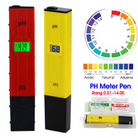 PH Meter PH Digital Tester PH Ukur Alat Pengukur Keasaman Cairan Air