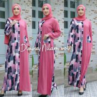 ORI DLUSIA NILAM VOL 1 maxi dress arab/india/dubai/turki busui rayon
