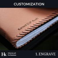 Customization Hk - Custom Engrave/Grafir untuk Gift/Souvenir/Merch