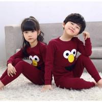 Piyama anak - Baju tidur anak lengan panjang 1-9 tahun
