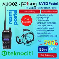 POFUNG UV82 HT / Handy Walkie Talkie Dual-Band UHF VHF BF-UV82