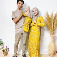 baju muslim couple ibu dan anak perempuan baju lebaran keluarga